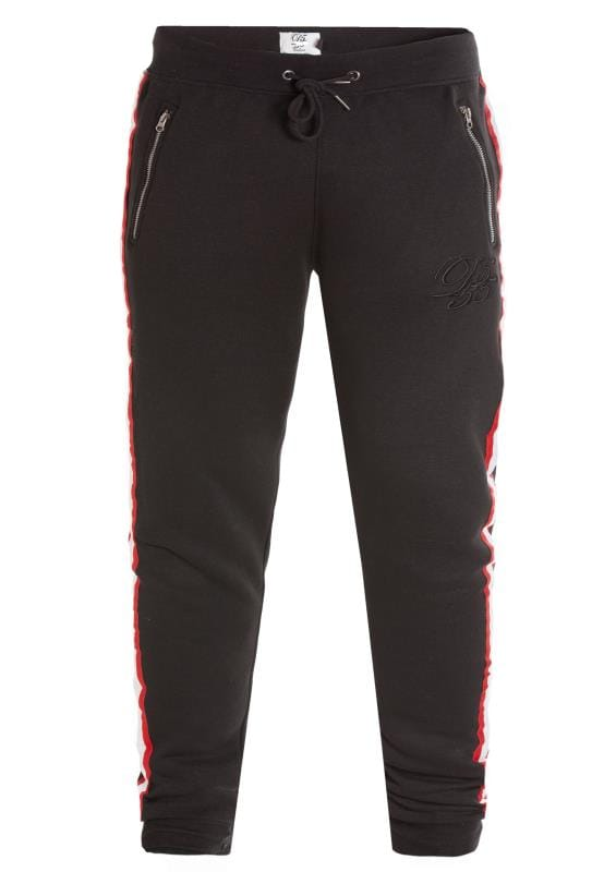 Joggers D555 Couture Black Taped Jogger 201825