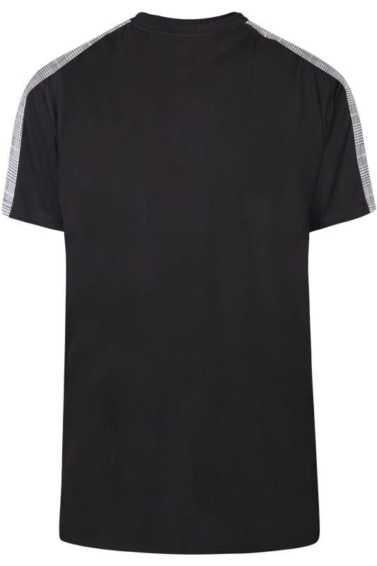 D555 Couture Black Taped T-Shirt