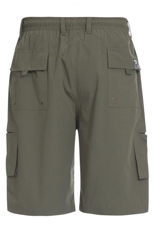 D555 Khaki Cargo Shorts