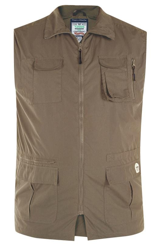 D555 Brown Pocket Gilet