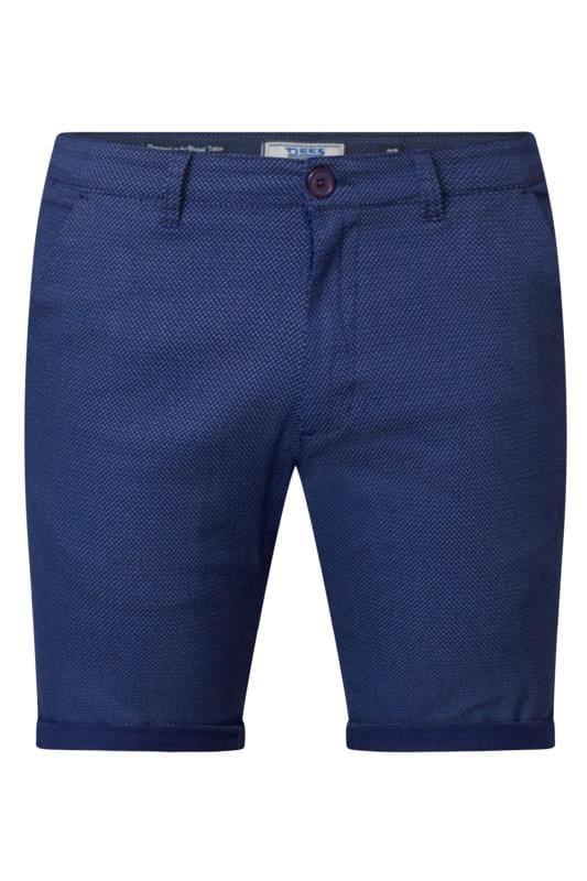 Men's Chino Shorts D555 Navy Chino Shorts