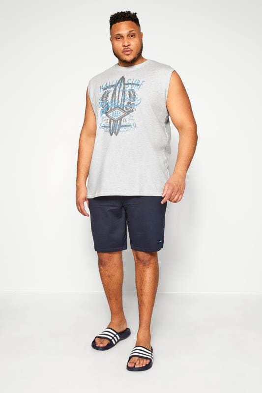 D555 Grey Marl Hawaii Surf Vest