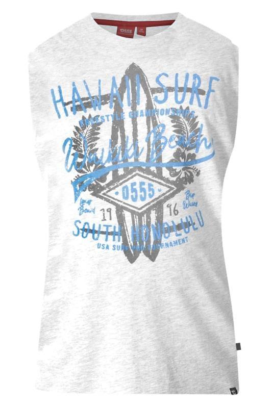 D555 Grey Marl Hawaii Surf Vest