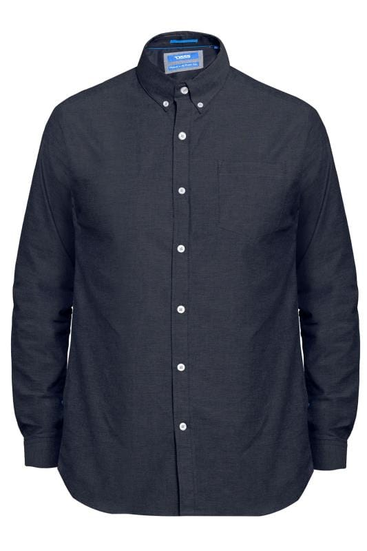 D555 Navy Stretch Shirt