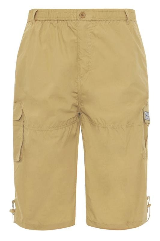 Men's Cargo Shorts D555 Sand Leg Pocket Cargo Shorts