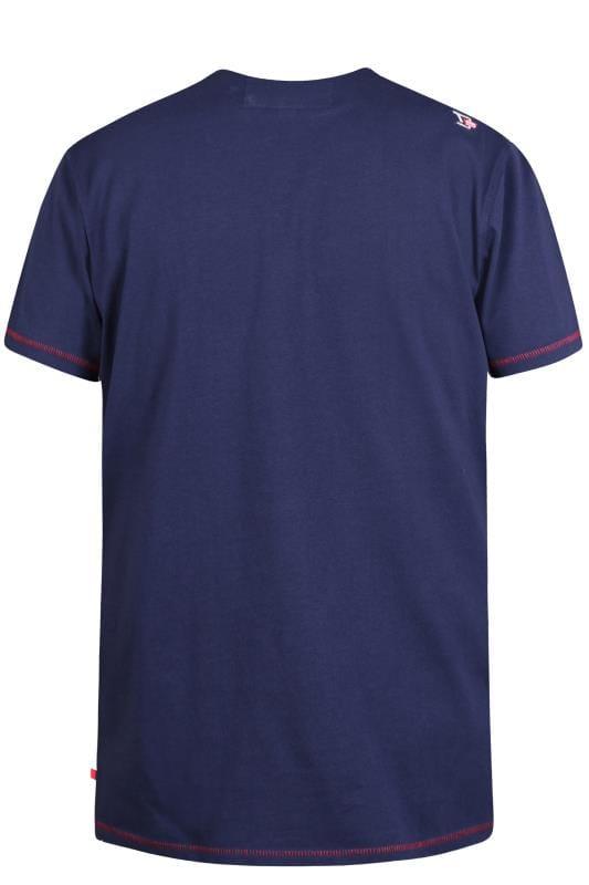 D555 Navy Surfboard T-Shirt