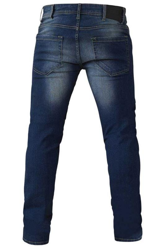 D555 Blue Tapered Stretch Jeans_9460.jpg