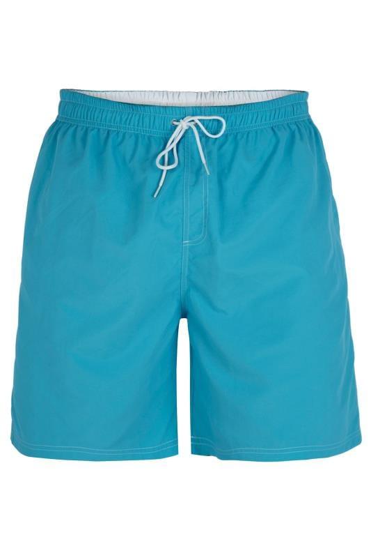D555 Aqua Blue Swim Shorts