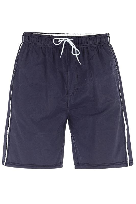 D555 Navy Swim Shorts