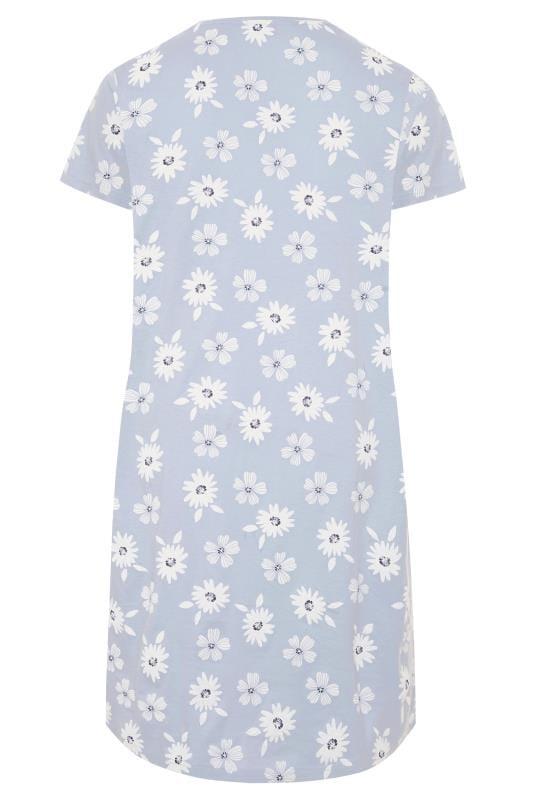 Light Blue Daisy Nightdress