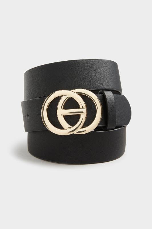 Gold Chunky Double Circle Belt