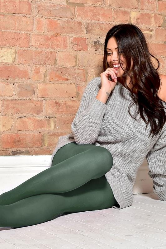 Dark Green 50 Denier Tights