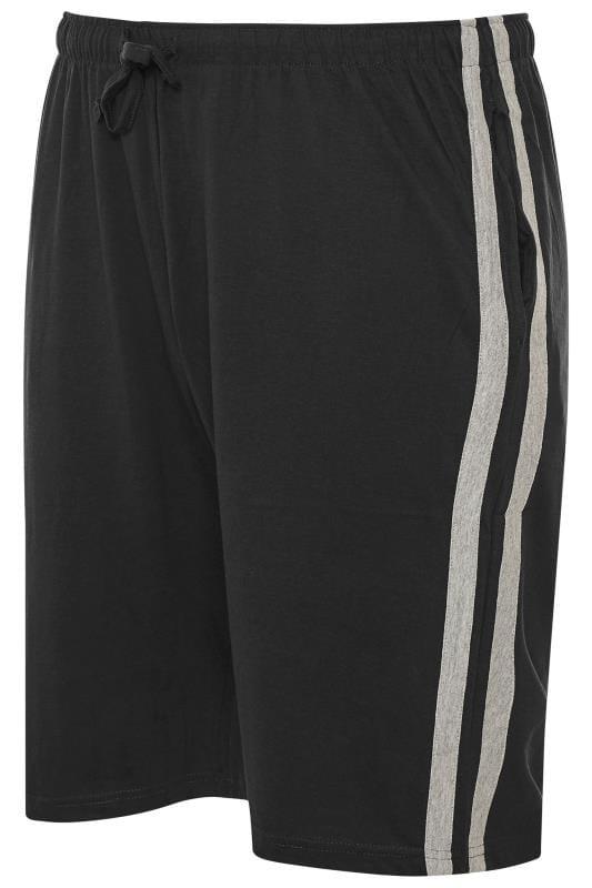 Jogger Shorts ED BAXTER Black Lounge Jogger Shorts 203444