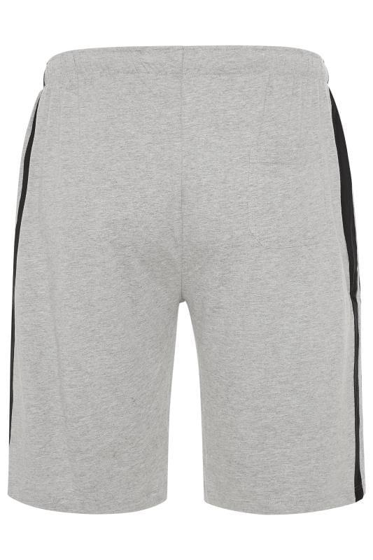 ED BAXTER Grey Lounge Jogger Shorts