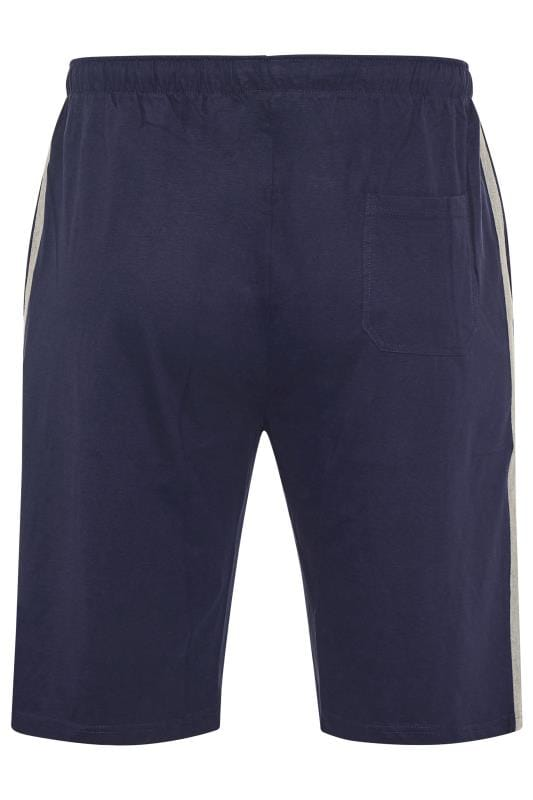 ED BAXTER Navy Lounge Jogger Shorts