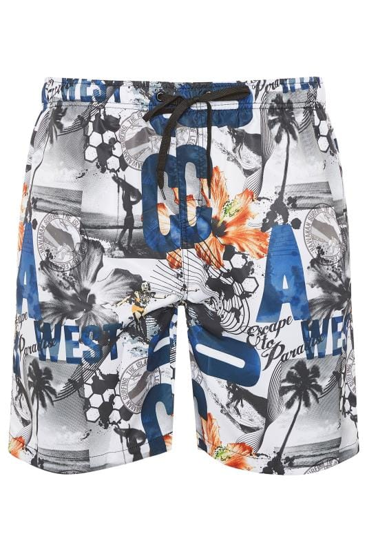 Swim Shorts ED BAXTER Multi Printed Swim Shorts 203477