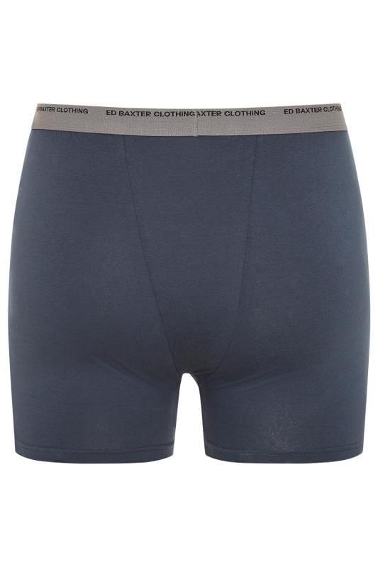 ED BAXTER 3 PACK Multi Boxer Shorts