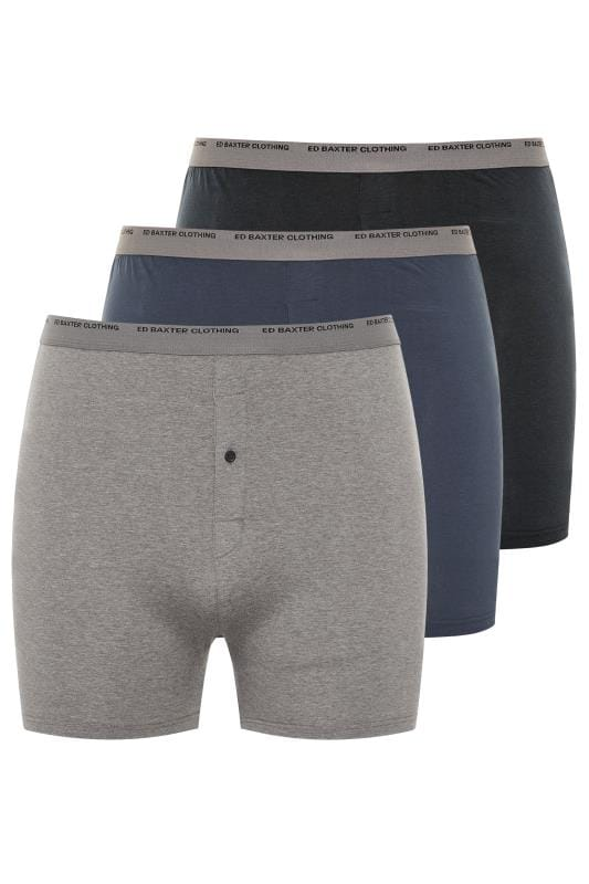 Boxers & Briefs ED BAXTER 3 PACK Multi Boxer Shorts 203450