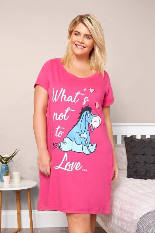 Pink Disney Eeyore Print Nightdress