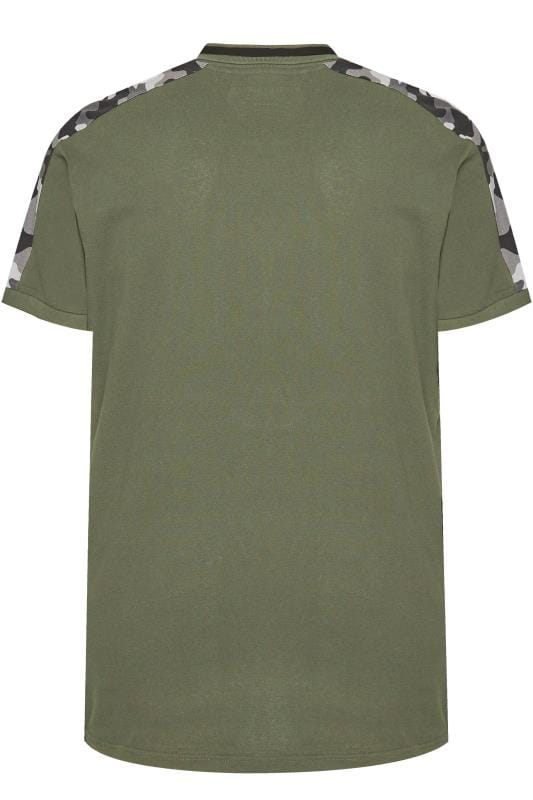 LOYALTY & FAITH Khaki Camo Polo Shirt