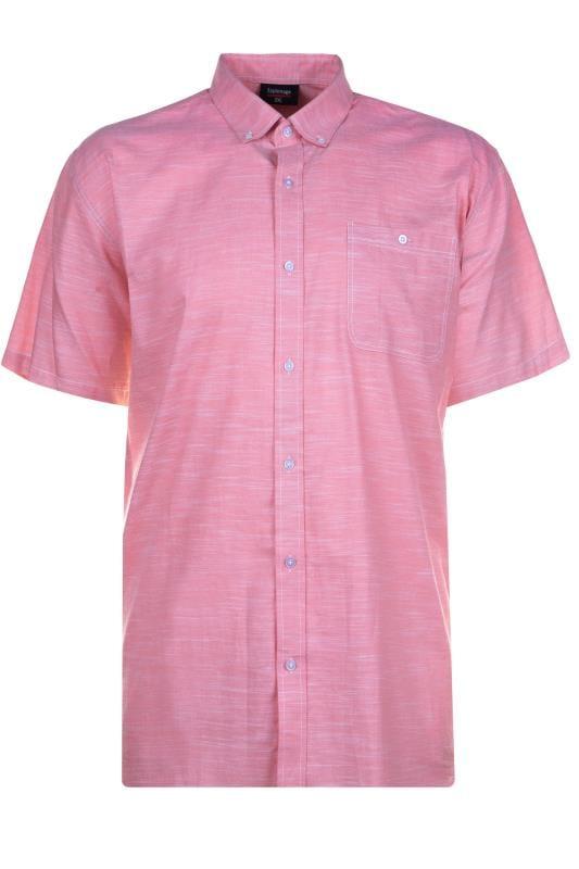 ESPIONAGE Pink Short Sleeve Shirt