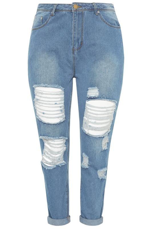 Blue Extreme Ripped MOM Jeans_b12c.jpg