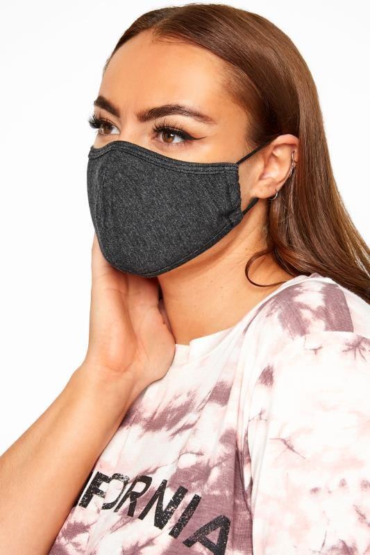 Black Antibacterial Face Mask