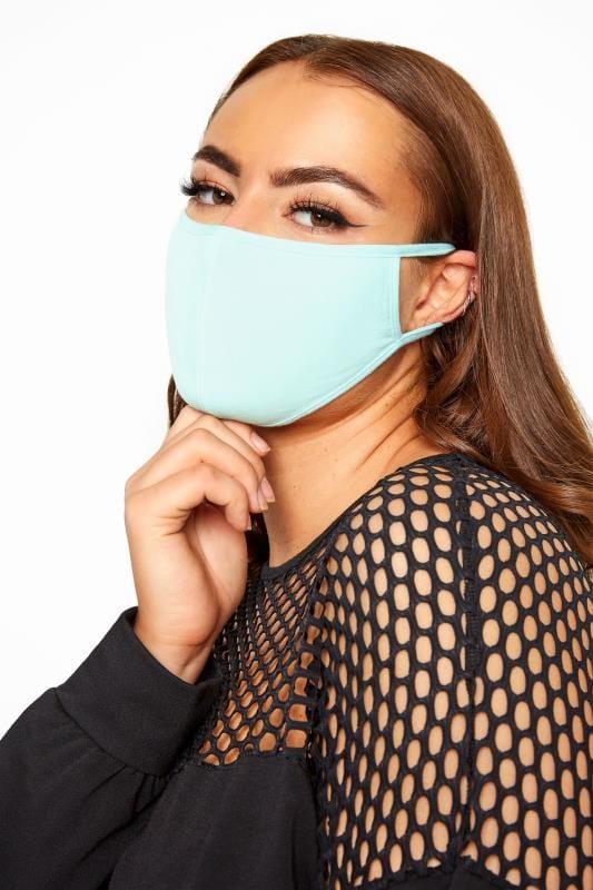 Blue Antibacterial Face Mask