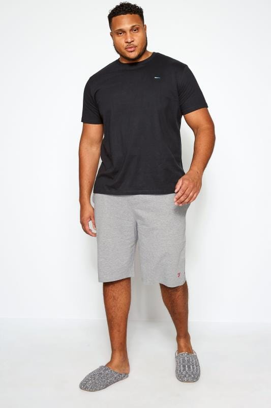 FARAH Grey Lounge Shorts