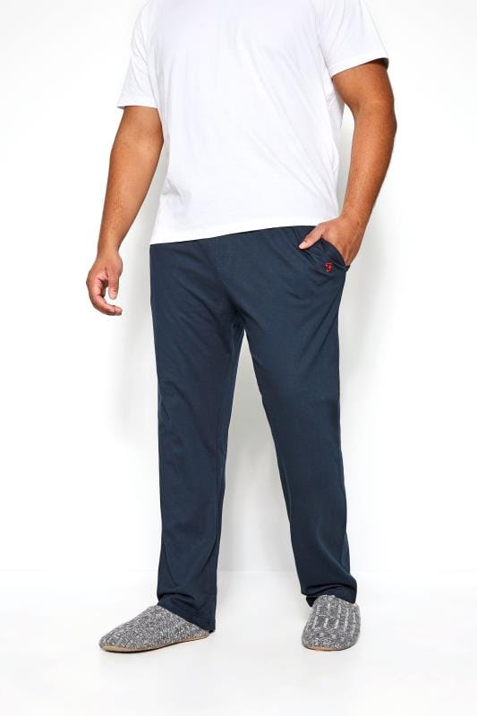 Plus Size Joggers FARAH Navy Lounge Pants