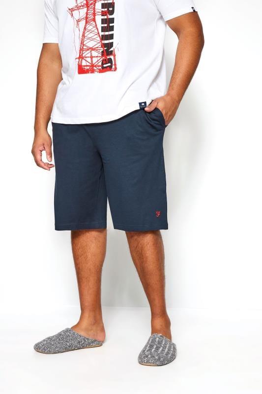 Jogger Shorts FARAH Navy Lounge Shorts 201577
