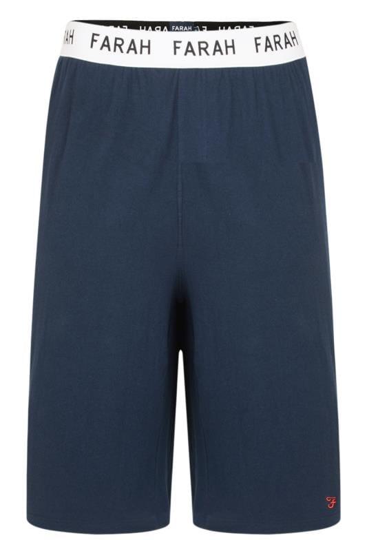 FARAH Navy Lounge Shorts