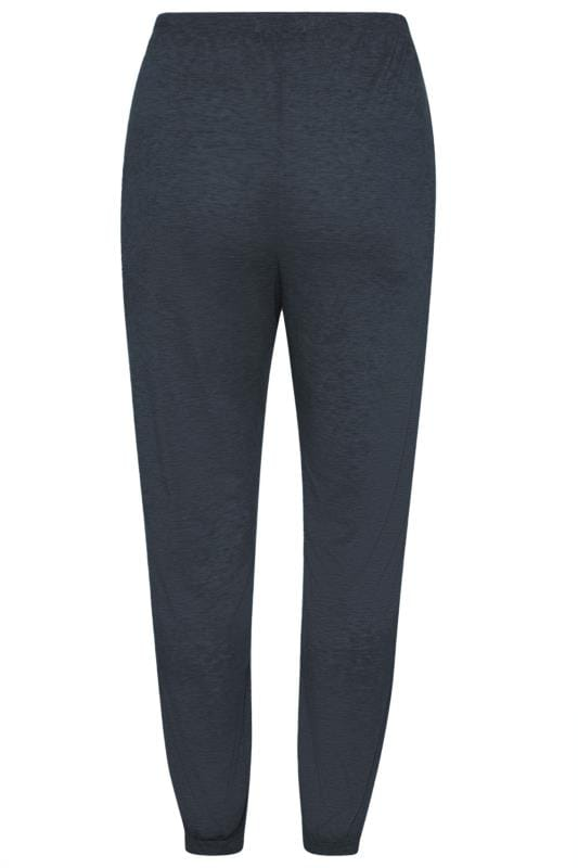 LIMITED COLLECTION Slate Grey Flannel Towelling Lounge Joggers