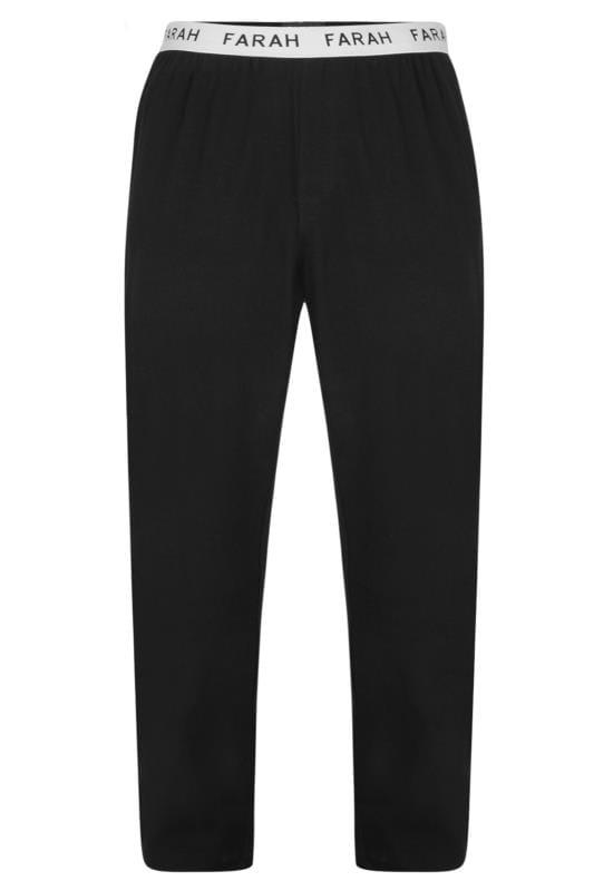 Joggers FARAH Black Lounge Pants 201579