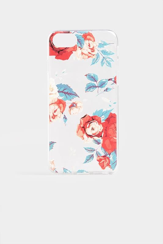 Plus Size Phone Cases Floral Print Phone Case