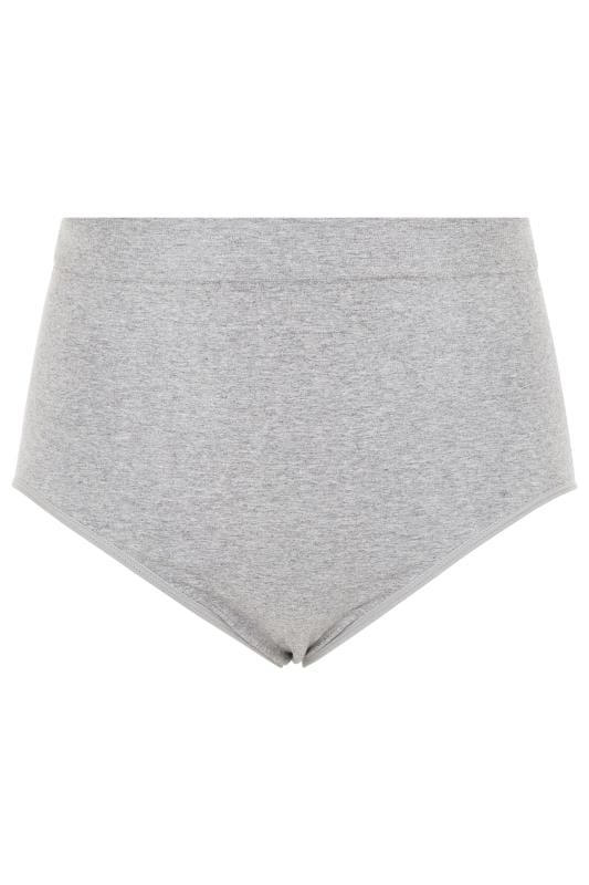 Grey Seamless Light Control Brief