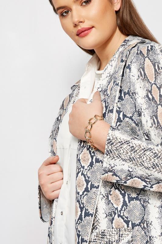 Plus Size Jewellery Gold Chain Bracelet