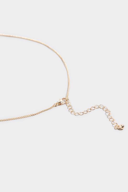 Halskette mit Münzen - Gold