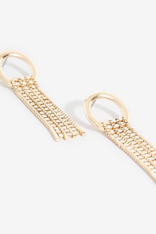 Gold Loop Diamante Tassel Earrings_7738.jpg