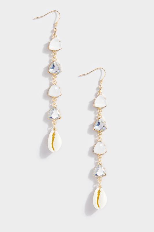 Gold Multi Stone Shell Earrings_41d3.jpg
