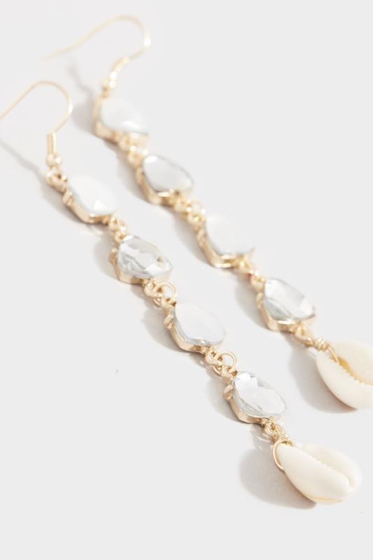 Gold Multi Stone Shell Earrings_a496.jpg