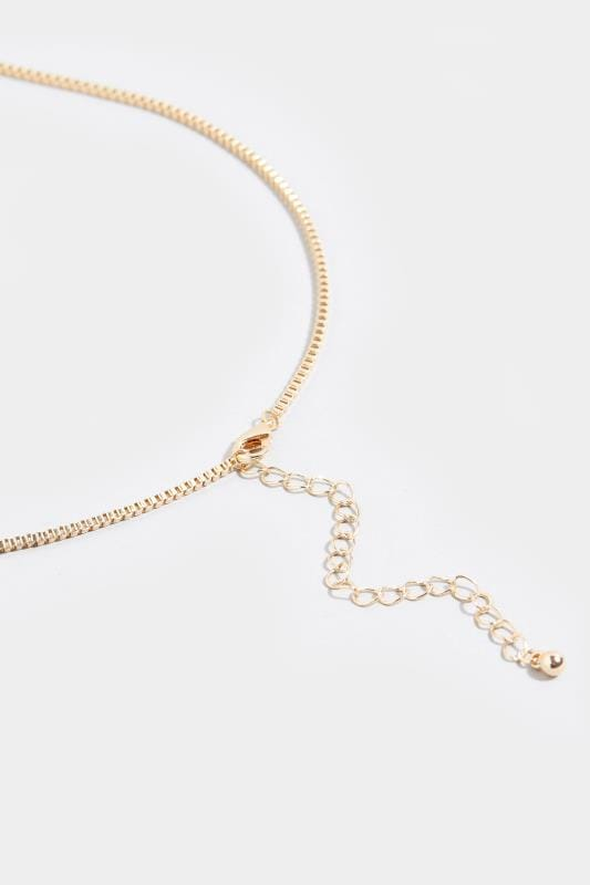 Yours Gold Shell Necklace