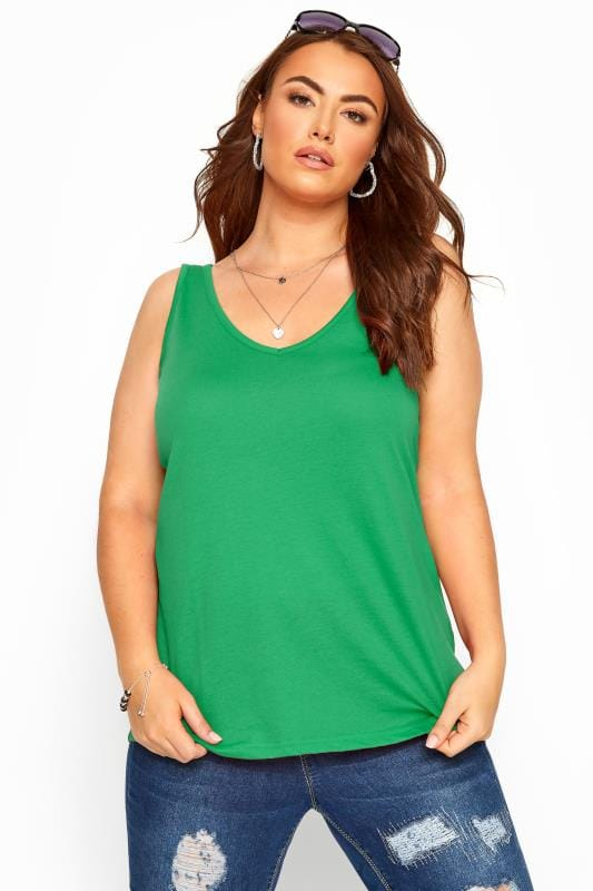 Green Cross Back Vest