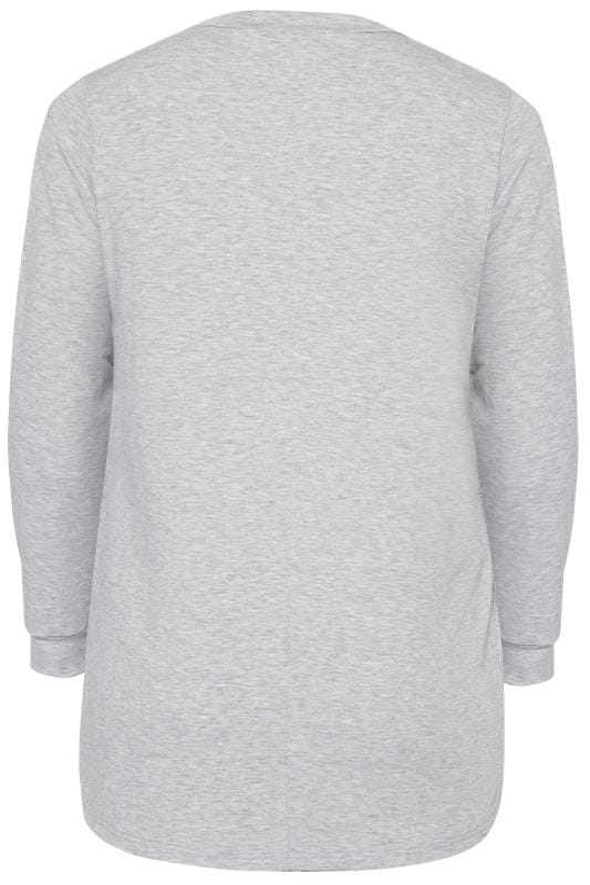Grey Animal Sweater