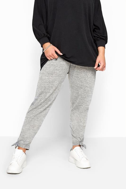 ED BAXTER Essential Lounging Jogger Bottoms Grey