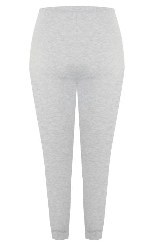 LIMITED COLLECTION Grey Marl Side Stripe Joggers