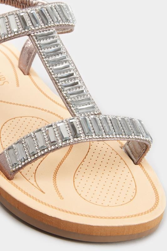 Grey Sparkle H-Band Sandals In Extra Wide Fit_0649.jpg