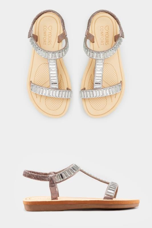 Grey Sparkle H-Band Sandals In Extra Wide Fit_1542.jpg