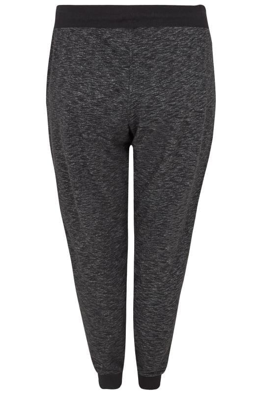 Grey Textured Joggers