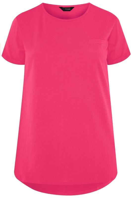 Hot Pink Pocket T-Shirt